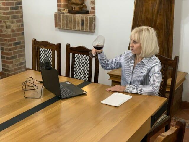 online ochutnávka vína